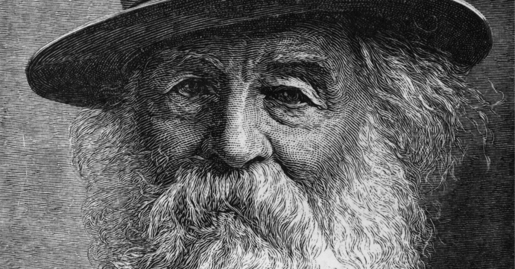 a look at what walt whitman Above is a picture of poet walt whitman his trademark long hair and karl marx beard would look right at home in certain corners of portland  open culture editor.